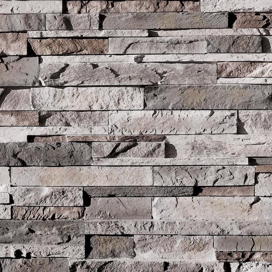 Coronado Stone Products Ledgestone 120 Square -ft Huron Manufactured stone veneer Stone Veneer