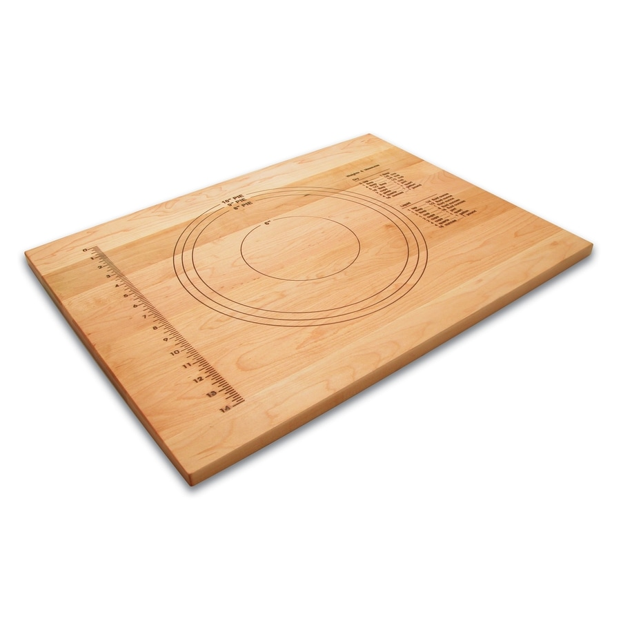 Snow River Products 18-in L x 24-in W Wood Cutting Board