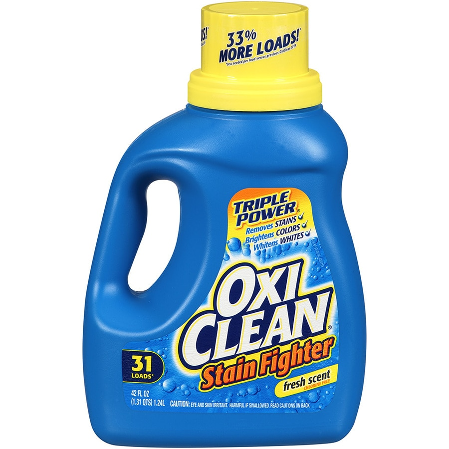 oxiclean 42fl oz fresh he laundry detergent