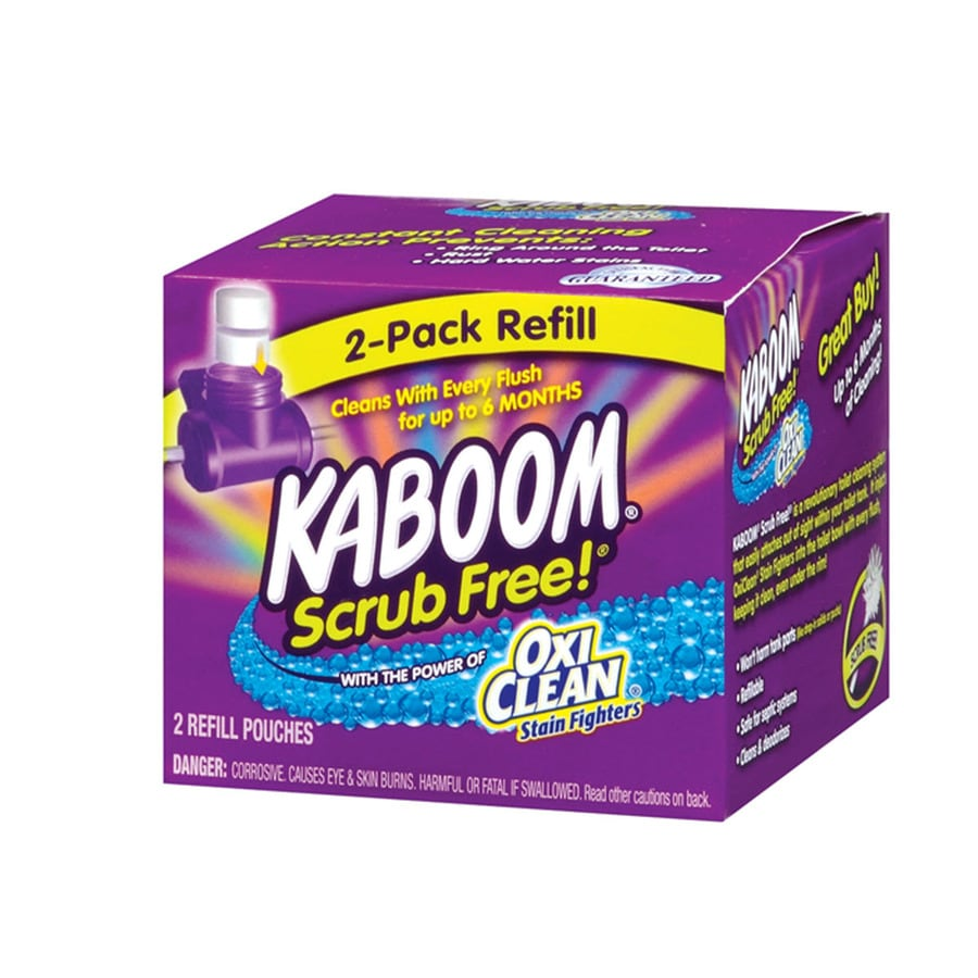 Shop Kaboom 2 Count Toilet Bowl Cleaner At Lowes Com