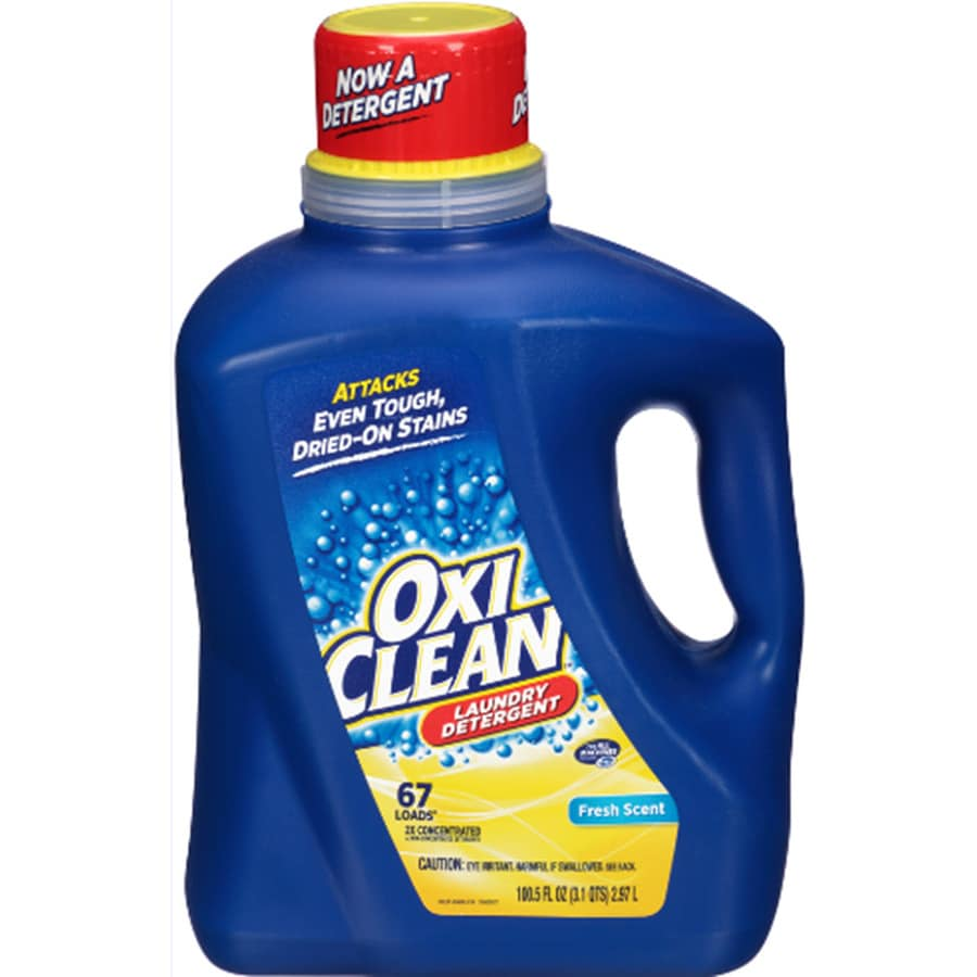 oxiclean 1005fl oz fresh scent he laundry detergent