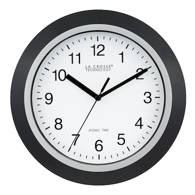 La Crosse Technology Og Atomic Round Wall Clock At Lowes