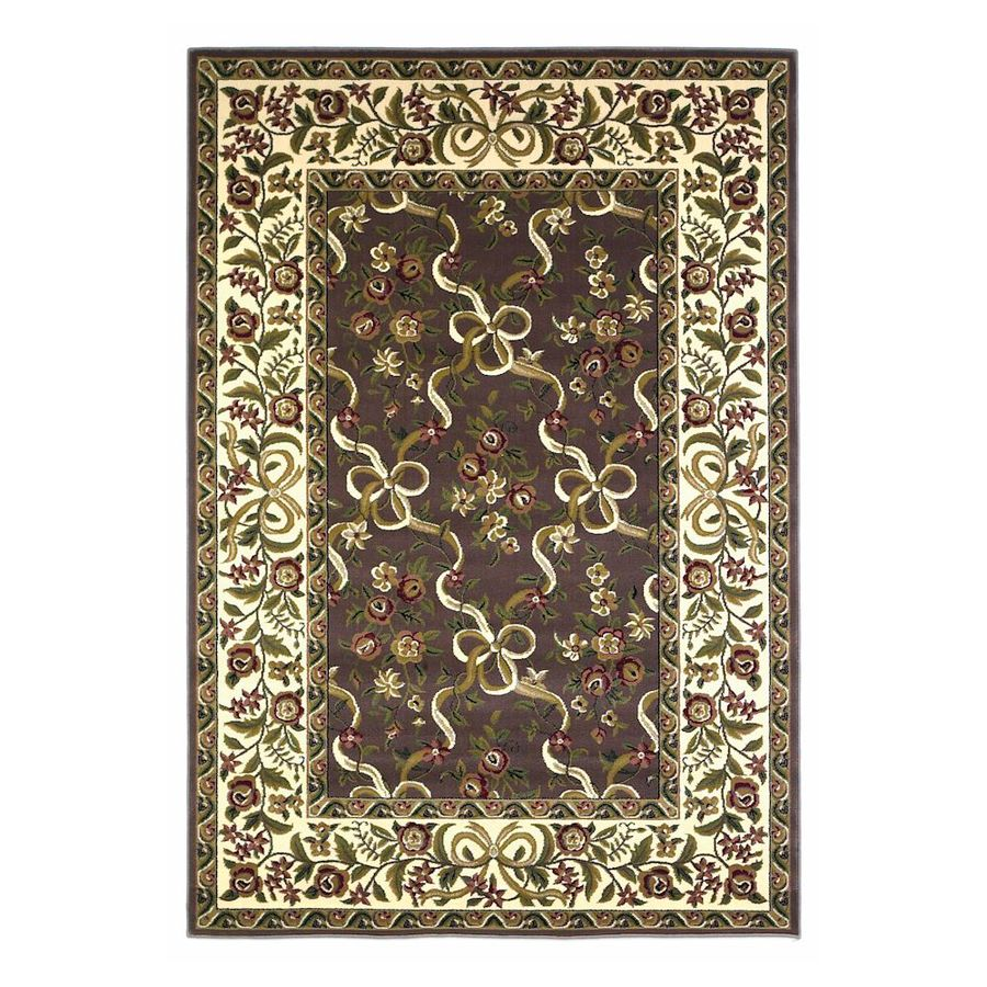 KAS Rugs Always Ribbons Rectangular Indoor Woven Area Rug