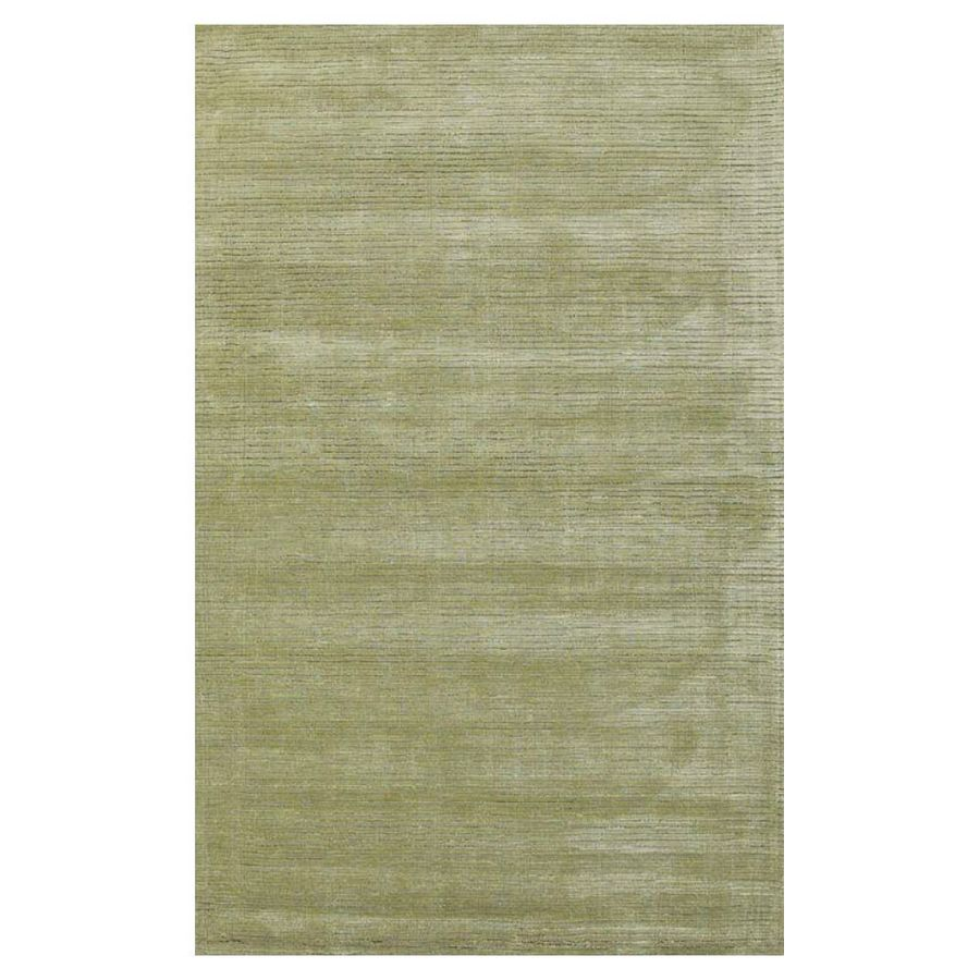 KAS Rugs Shimmering Treasures Green Rectangular Indoor Tufted Area Rug (Common: 8 x 10; Actual: 96-ft W x 120-ft L)