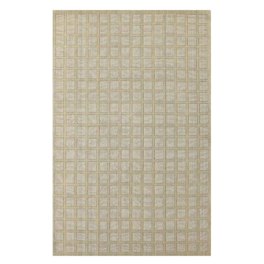KAS Rugs Modern Simplicity Rectangular Indoor Tufted Area Rug (Common: 8 x 10; Actual: 96-in W x 120-in L)