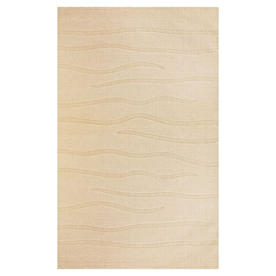 KAS Rugs Modern Simplicity Rectangular Indoor Tufted Throw Rug (Common: 3 x 5; Actual: 39-in W x 63-in L)