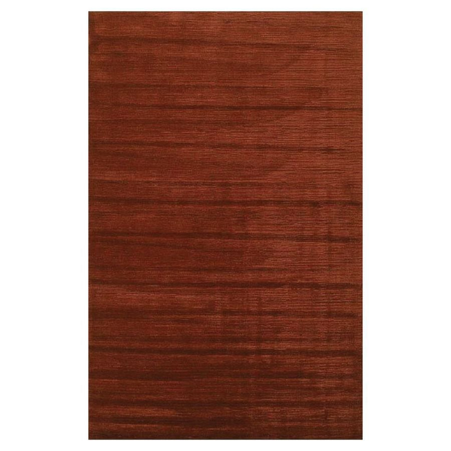 KAS Rugs Shimmering Treasures Red Rectangular Indoor Tufted Area Rug (Common: 5 x 8; Actual: 60-in W x 96-in L)