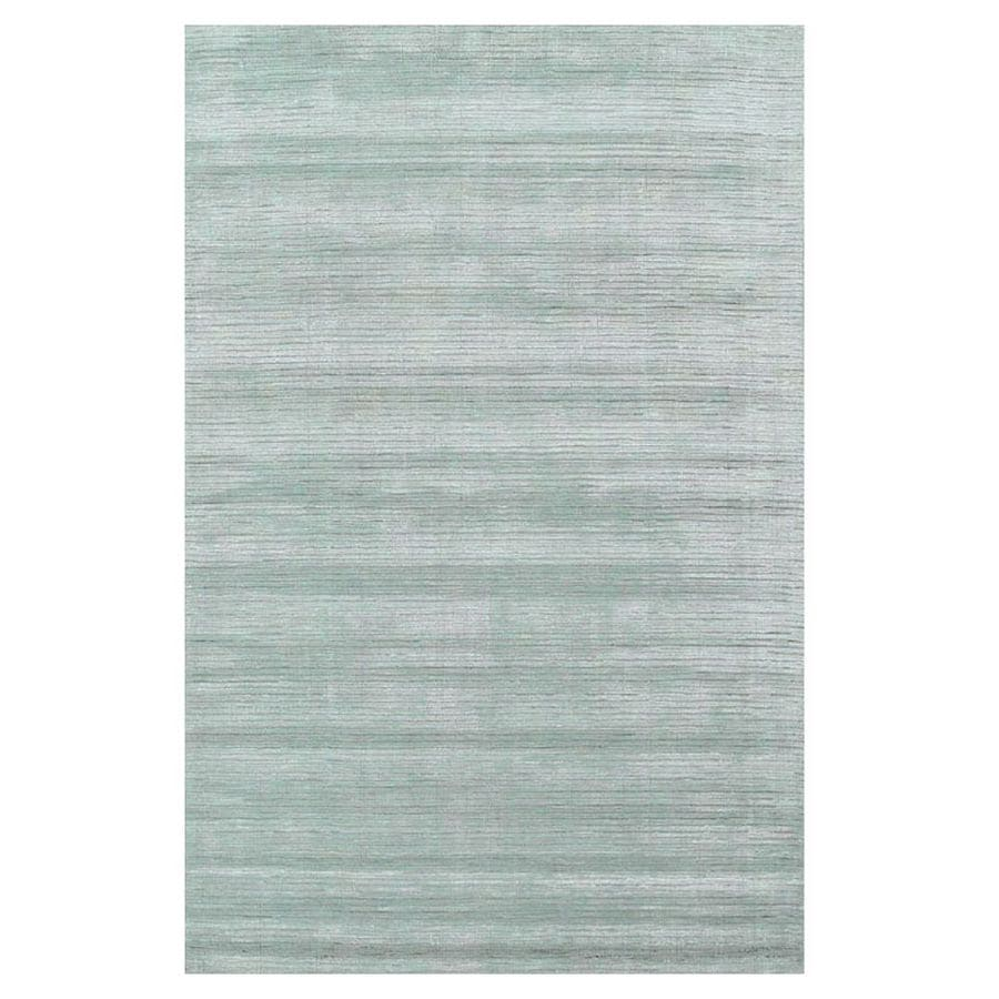 KAS Rugs Shimmering Treasures Blue Rectangular Indoor Tufted Throw Rug (Common: 2 x 4; Actual: 30-ft W x 50-ft L)