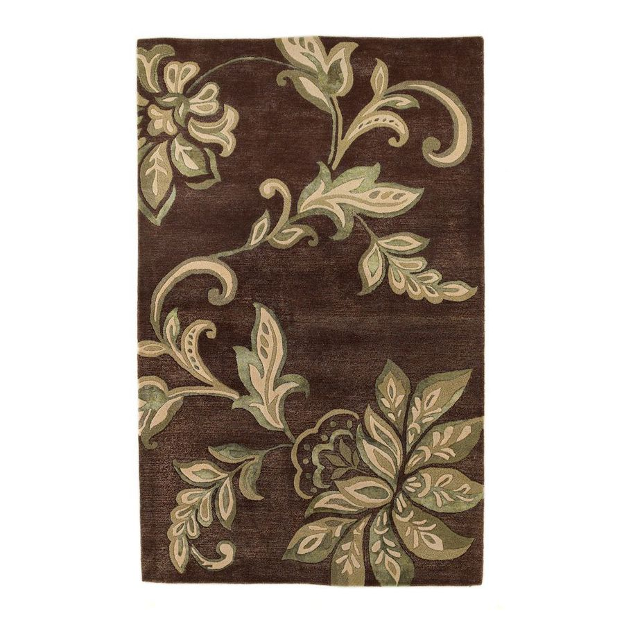 KAS Rugs Florentine Rectangular Indoor Tufted Throw Rug (Common: 2 x 4; Actual: 30-in W x 50-in L)