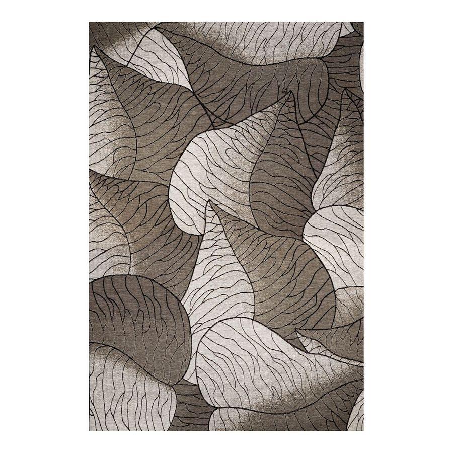 KAS Rugs Serenity Gray Rectangular Indoor/Outdoor Woven Area Rug (Common: 8 x 11; Actual: 97-ft W x 134-ft L)