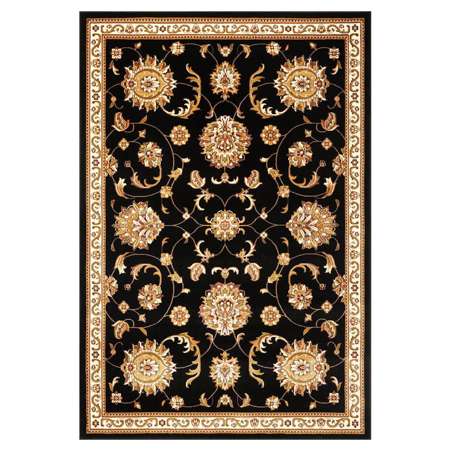 KAS Rugs Mahal Rectangular Indoor Woven Area Rug (Common: 5 x 8; Actual: 63-in W x 91-in L)
