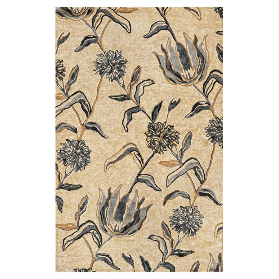 KAS Rugs Florentine Rectangular Indoor Tufted Throw Rug