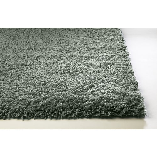 Sofia Shag Blue Rectangular Indoor Machine Made Area Rug