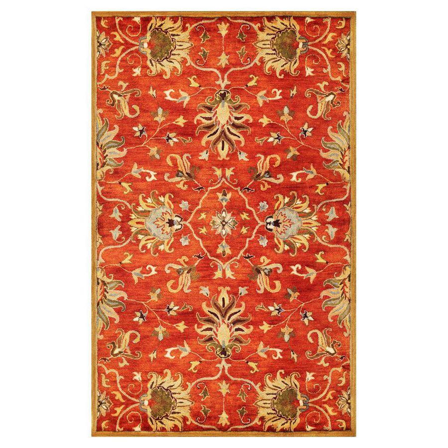 Shop KAS Rugs Tapestry Today Rectangular Orange