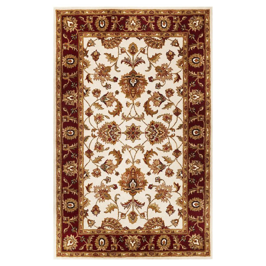 Area Rug Lowes Safavieh Evoke Isla Navy Ivory Indoor Area