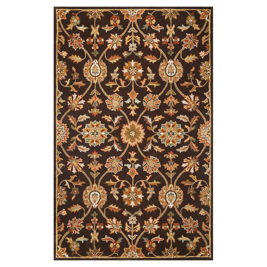 KAS Rugs Classic Simplicity Rectangular Indoor Tufted Area Rug