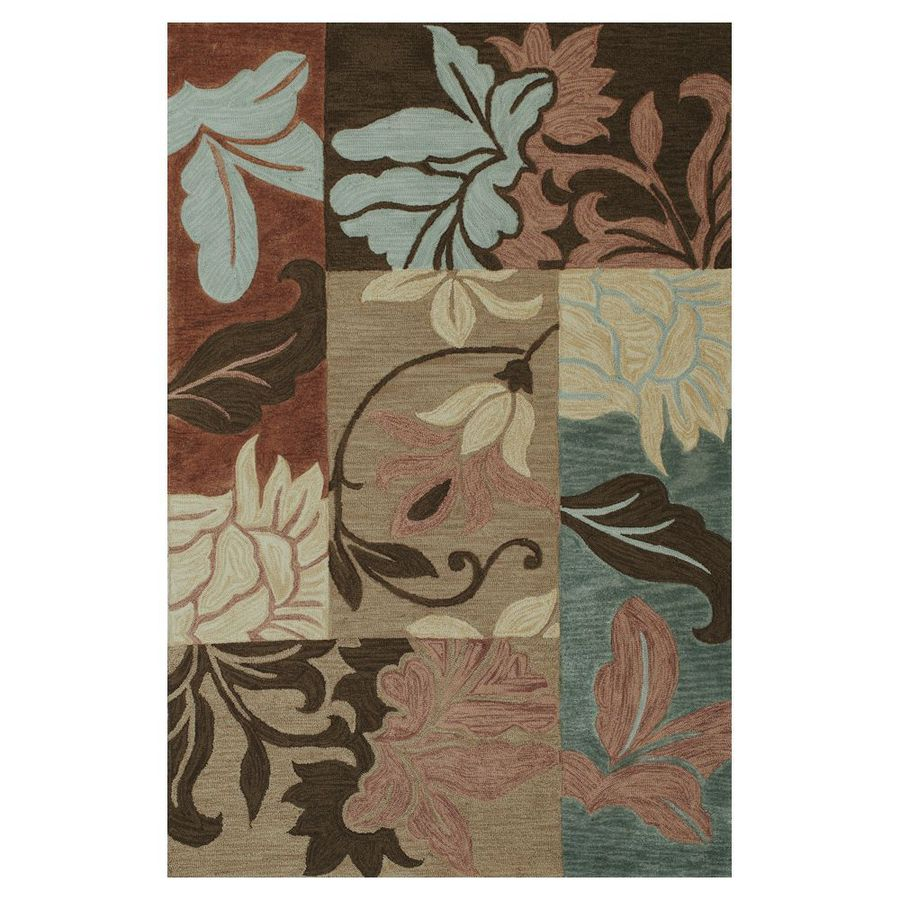 KAS Rugs Trend Setter Rectangular Indoor Tufted Area Rug (Common: 5 x 7; Actual: 60-in W x 90-in L)