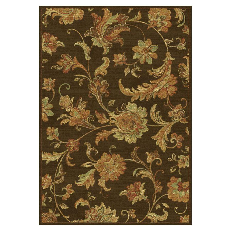 KAS Rugs Todays Treasures Rectangular Indoor Woven Throw Rug (Common: 2 x 3; Actual: 26-in W x 43-in L)