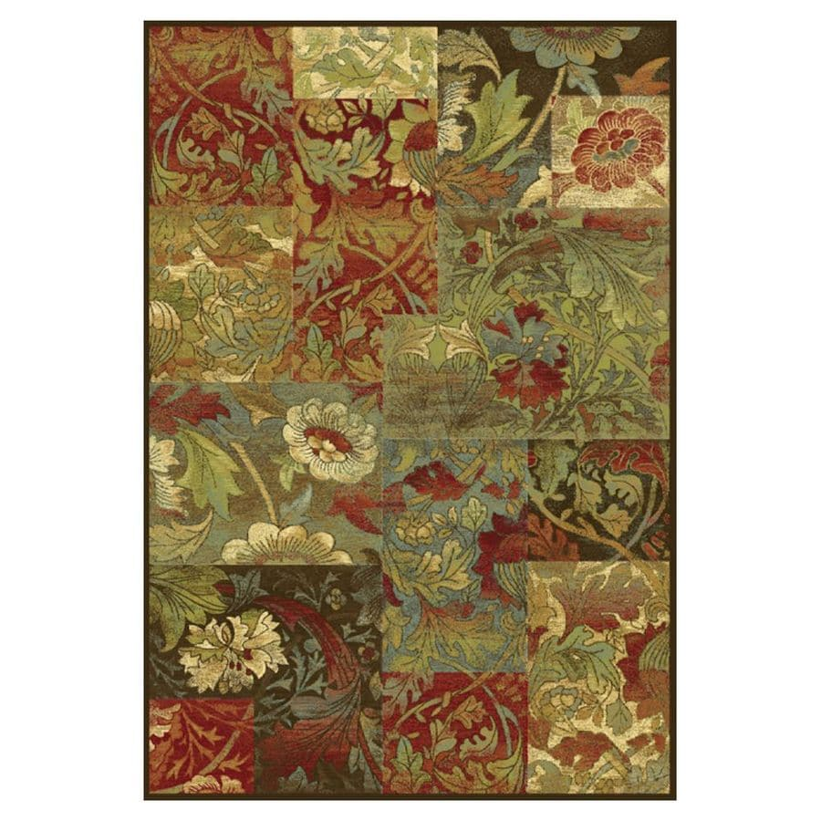 Kas Rugs To Day Treasures Brown Rectangular Indoor Woven
