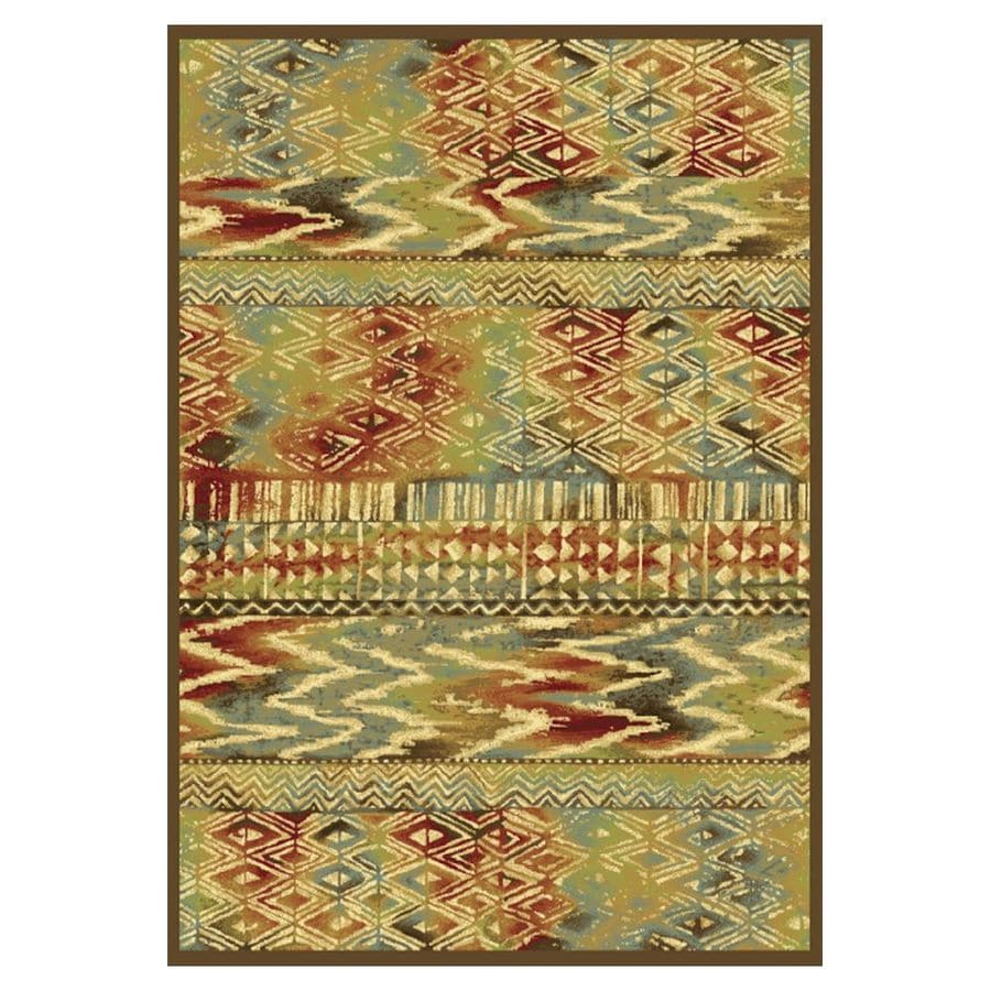 KAS Rugs Todays Treasures Rectangular Indoor Woven Throw Rug (Common: 3 x 5; Actual: 39-in W x 55-in L)