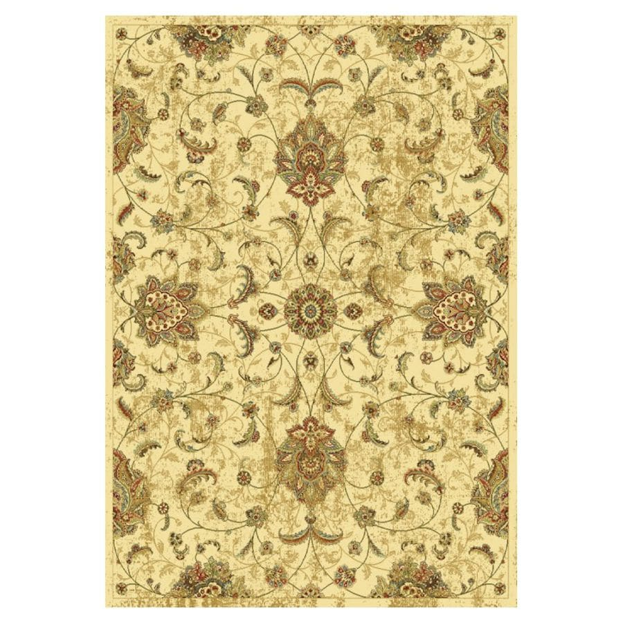 KAS Rugs Todays Treasures Rectangular Indoor Woven Area Rug (Common: 5 x 8; Actual: 63-in W x 91-in L)