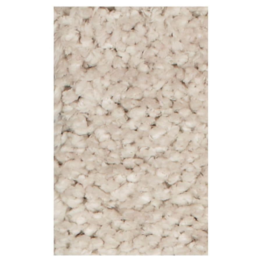 KAS Rugs Perfect Shag Ivory Rectangular Indoor Shag Throw Rug (Common: 2 x 4; Actual: 27-in W x 45-in L x 0-ft Dia)