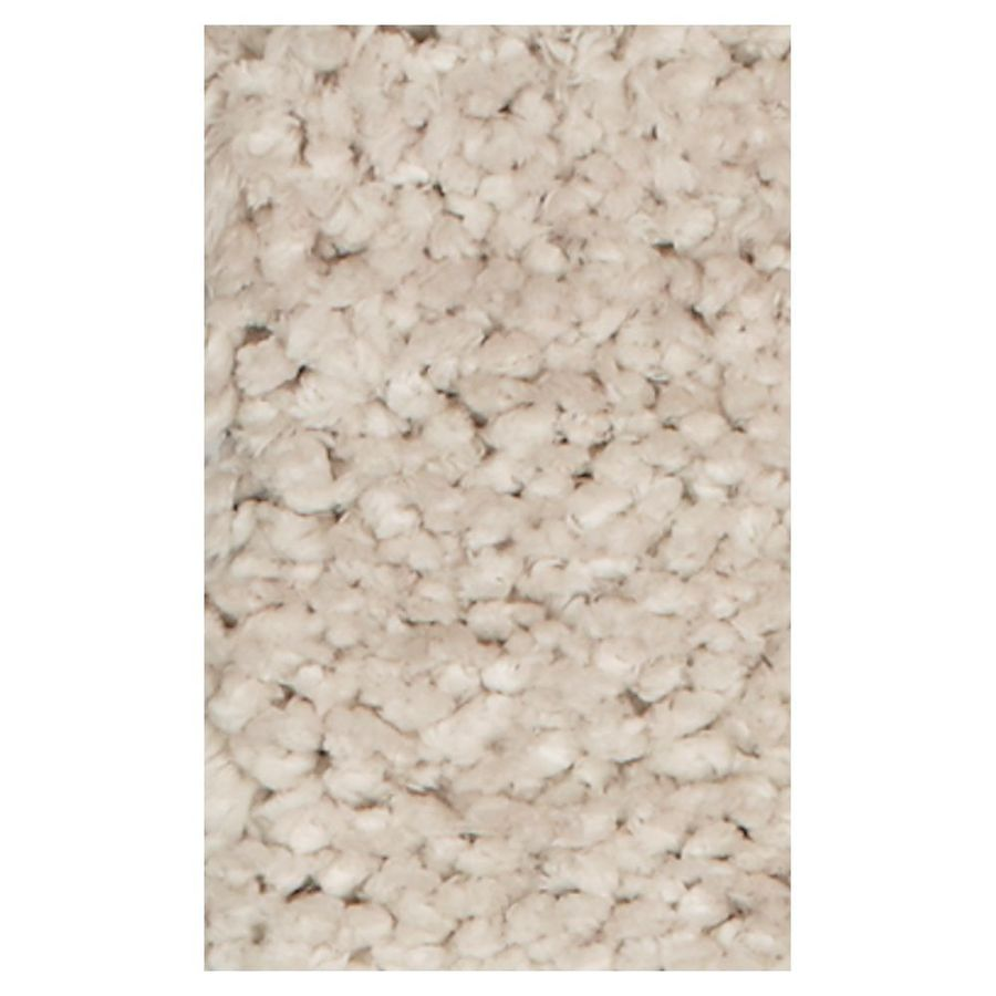 KAS Rugs Perfect Shag Ivory Rectangular Indoor Shag Area Rug (Common: 5 x 7; Actual: 60-ft W x 84-ft L)