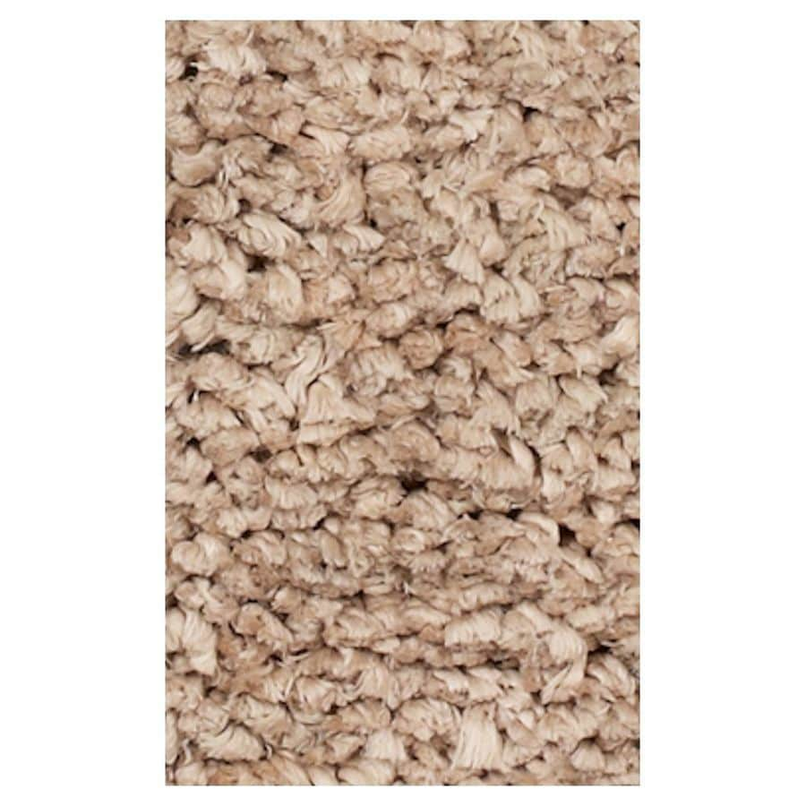 KAS Rugs Perfect Shag Ivory Rectangular Indoor Shag Throw Rug (Common: 3 x 5; Actual: 39-in W x 63-in L x 0-ft Dia)