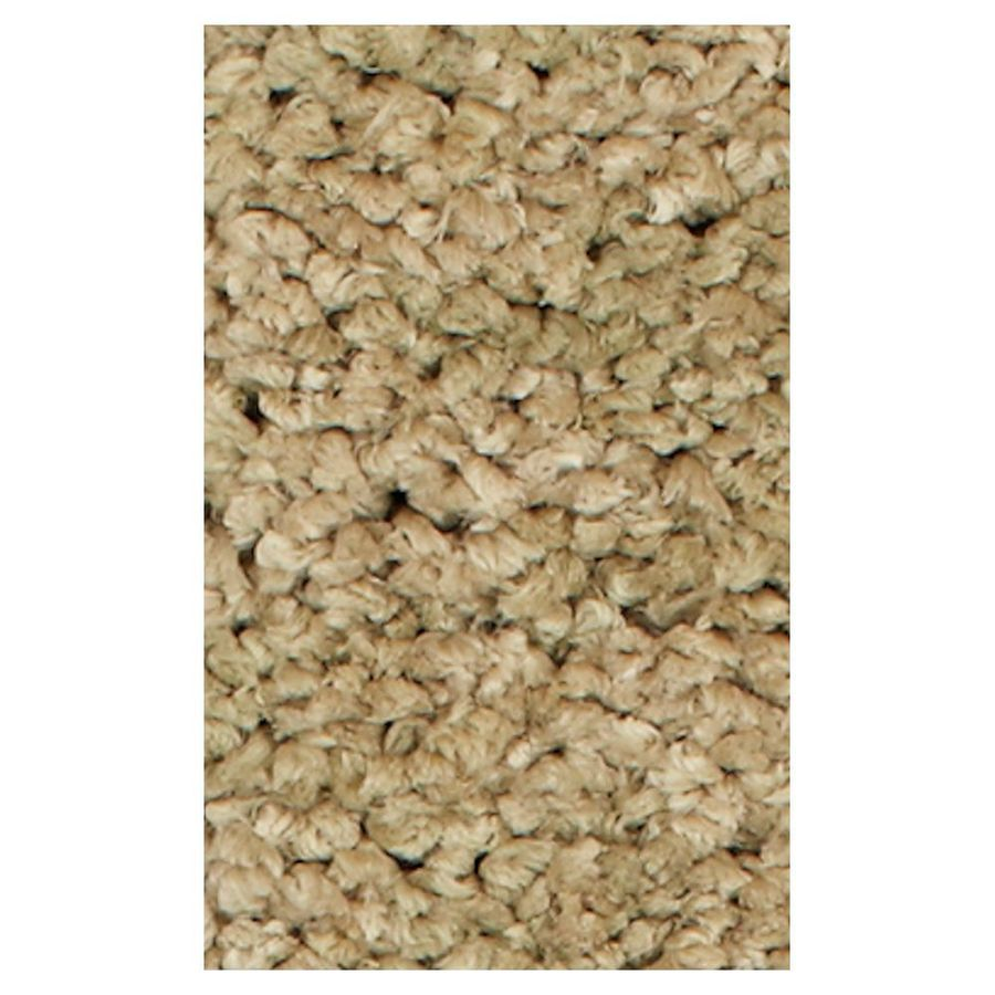 KAS Rugs Perfect Shag Brown Rectangular Indoor Shag Throw Rug (Common: 3 x 5; Actual: 39-in W x 63-in L x 0-ft Dia)