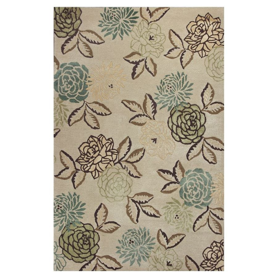 KAS Rugs Florentine Rectangular Indoor Tufted Area Rug