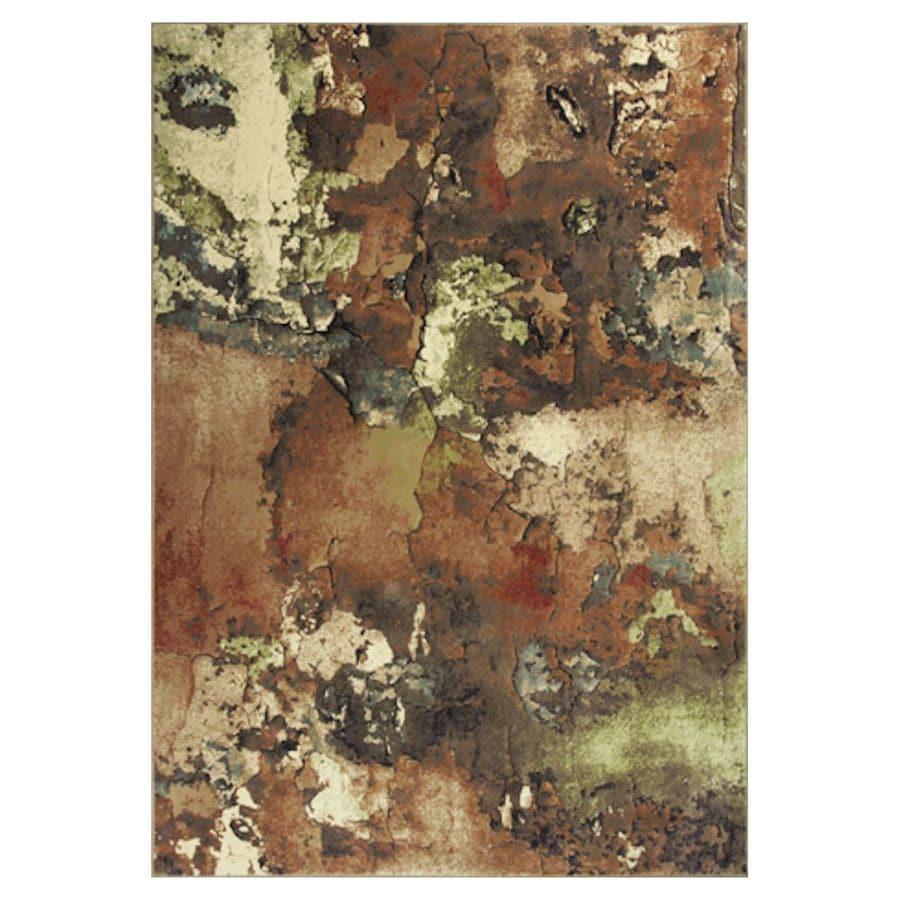 KAS Rugs Todays Treasures Multicolor Rectangular Indoor Woven Throw Rug (Common: 2 x 3; Actual: 26-in W x 43-in L x 0-ft Dia)