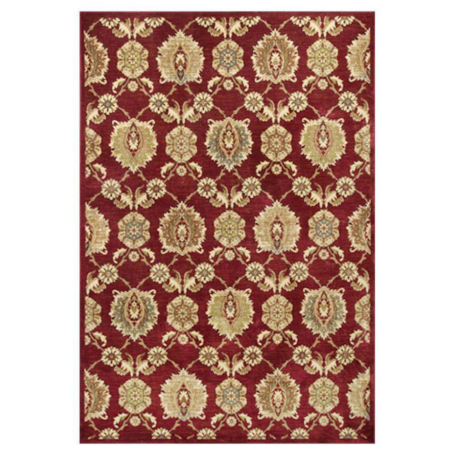 KAS Rugs Todays Treasures Rectangular Indoor Woven Throw Rug (Common: 3 x 5; Actual: 39-in W x 55-in L)
