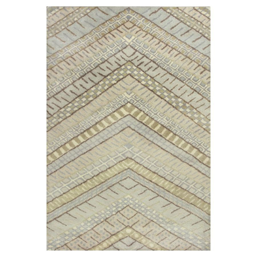 KAS Rugs Luxury Comfort Rectangular Indoor Tufted Throw Rug (Common: 3 x 5; Actual: 39-in W x 63-in L)
