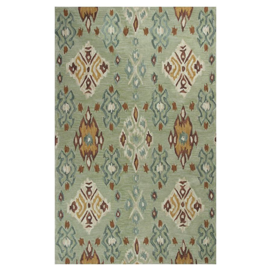 KAS Rugs Textured Fashion Rectangular Indoor Tufted Throw Rug (Common: 2 x 4; Actual: 27-in W x 45-in L)
