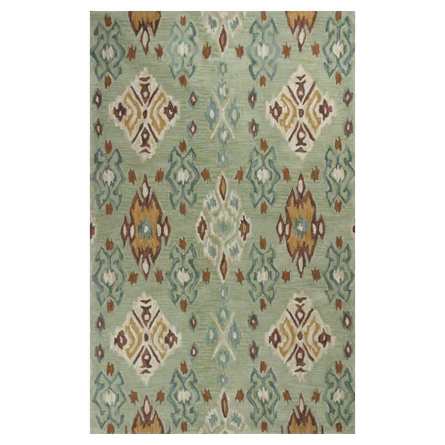 KAS Rugs Textured Fashion Rectangular Indoor Tufted Area Rug