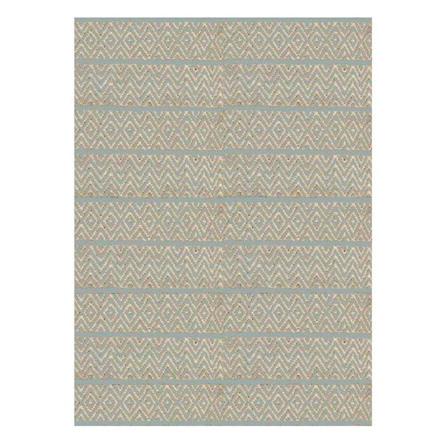 KAS Rugs Rustic Jute Gray Rectangular Indoor Woven Nature Throw Rug (Common: 3 x 5; Actual: 39-in W x 63-in L x 0-ft Dia)