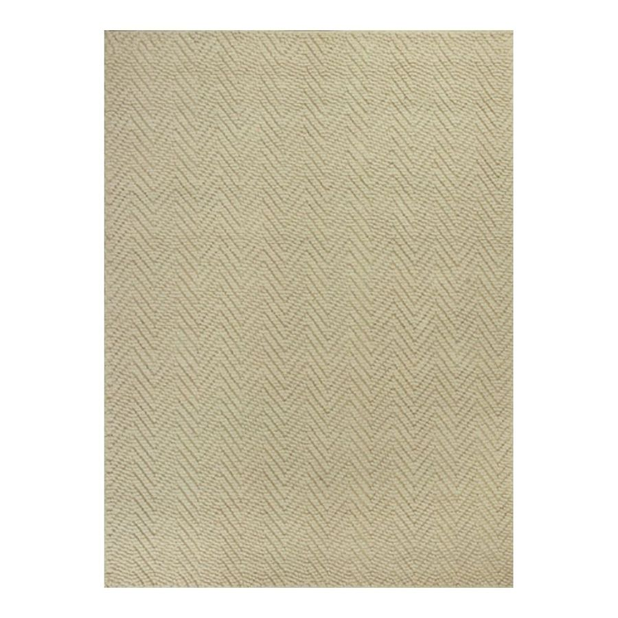 KAS Rugs Organics Ivory Rectangular Indoor Woven Nature Area Rug (Common: 5 x 8; Actual: 60-ft W x 96-ft L)