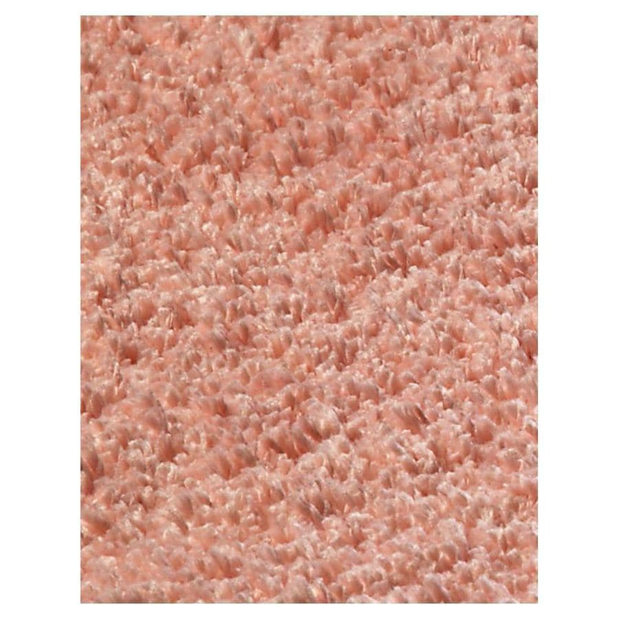 KAS Rugs Sofia Shag Red Rectangular Indoor Machine-Made Runner (Common: 2 x 8; Actual: 2.25-ft W x 7.50-ft L)