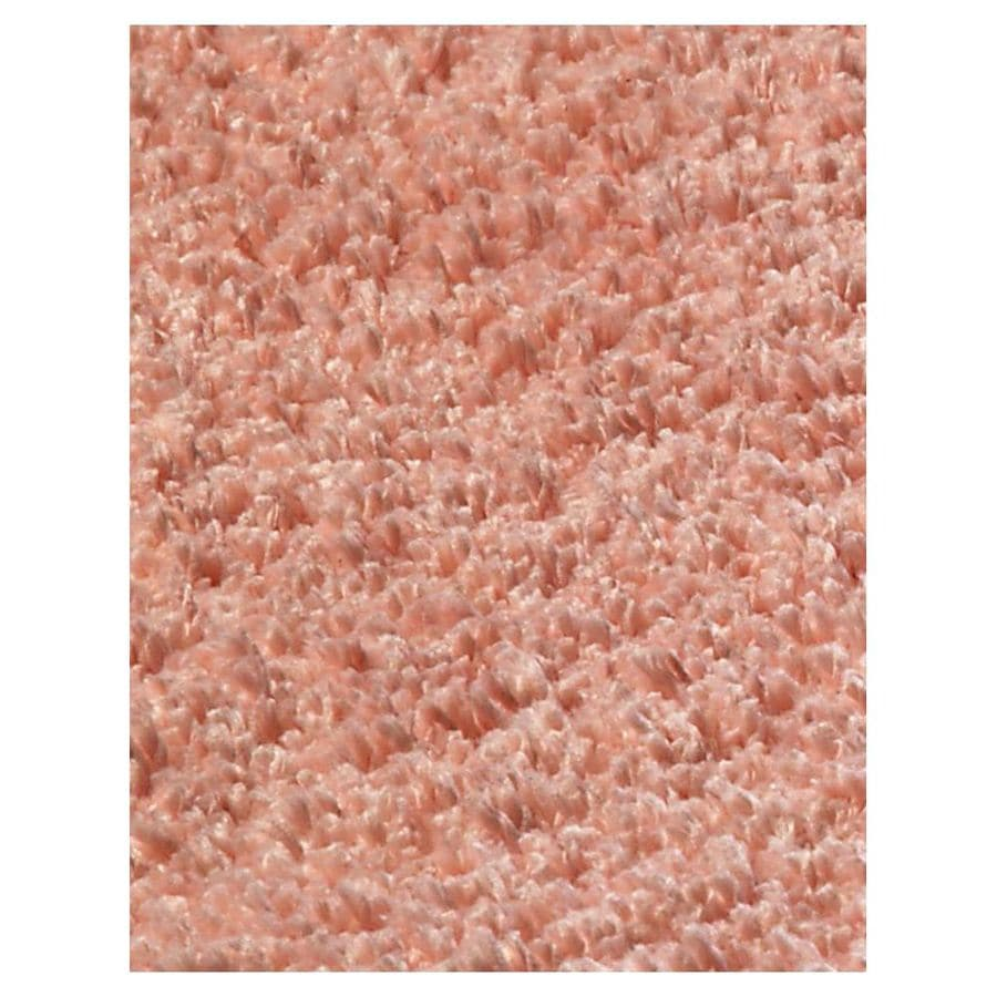 KAS Rugs Sofia Shag Pink Rectangular Indoor Shag Area Rug (Common: 5 x 7; Actual: 60-in W x 84-in L x 0-ft Dia)
