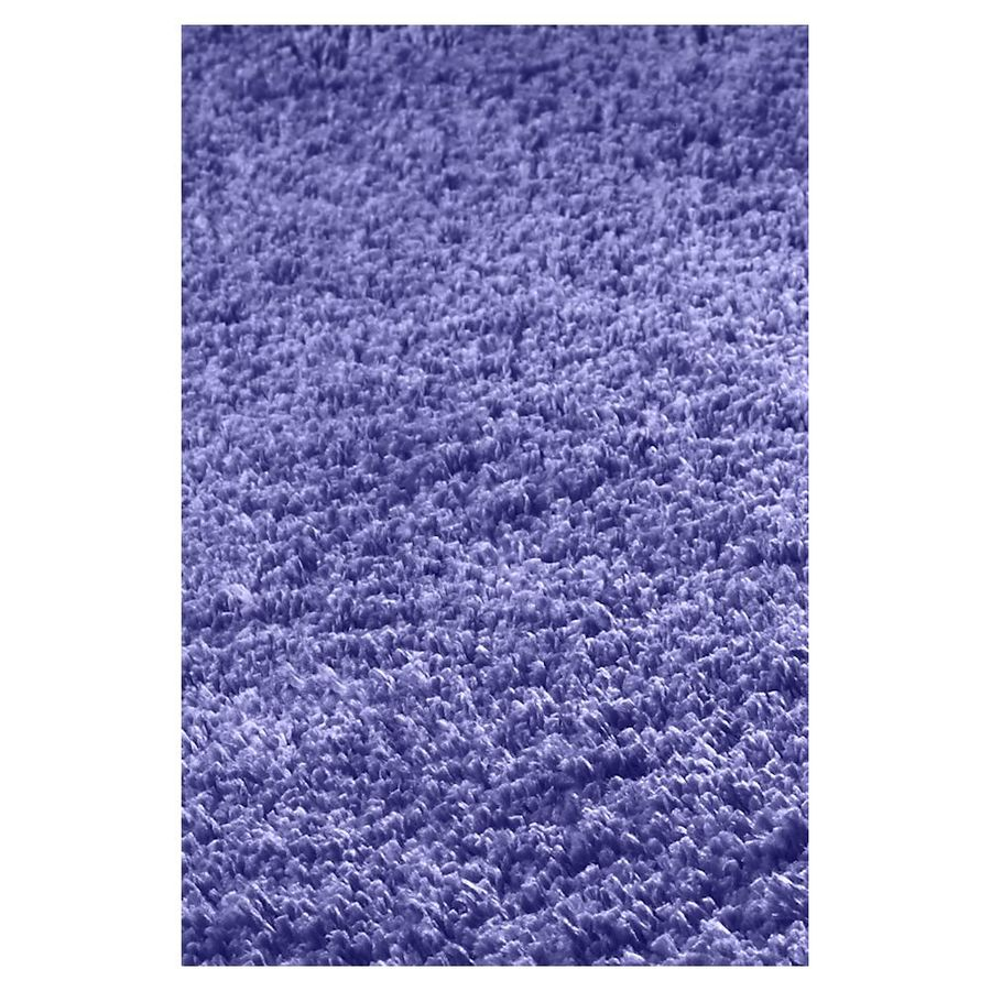 KAS Rugs Sofia Shag Purple Rectangular Indoor Shag Area Rug (Common: 8 x 10; Actual: 90-ft W x 102-ft L)