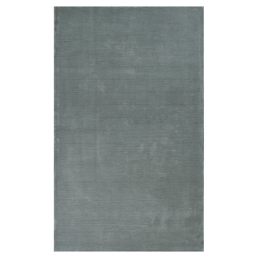 KAS Rugs Tonal Elegance Blue Rectangular Indoor Tufted Throw Rug (Common: 3 x 5; Actual: 39-in W x 63-in L x 0-ft Dia)
