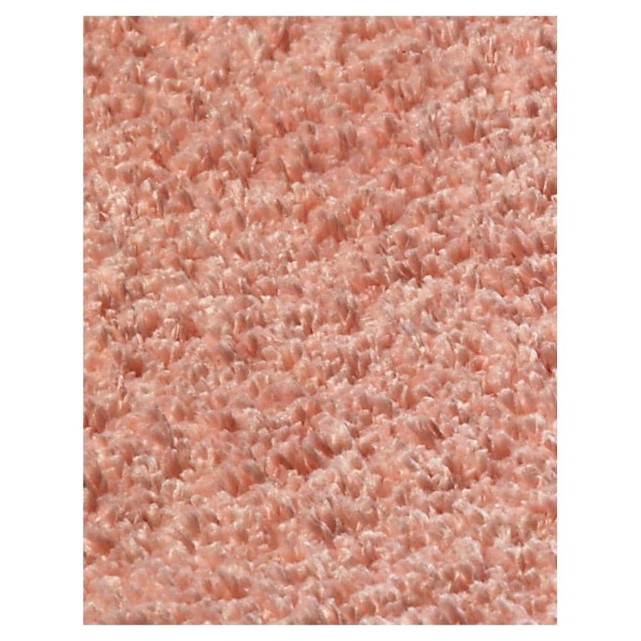 KAS Rugs Sofia Shag Red Rectangular Indoor Shag Throw Rug (Common: 3 x 5; Actual: 39-ft W x 63-ft L)