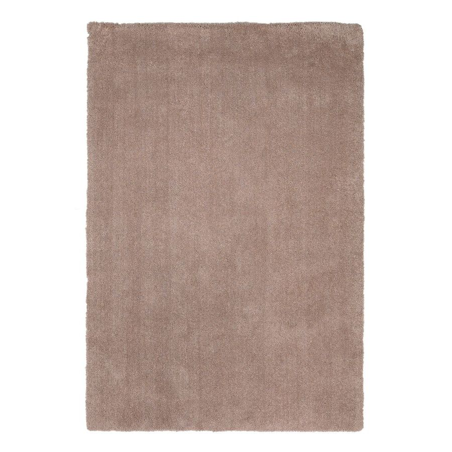 KAS Rugs Sofia Shag Cream Rectangular Indoor Shag Area Rug (Common: 8 x 11; Actual: 96-ft W x 132-ft L)
