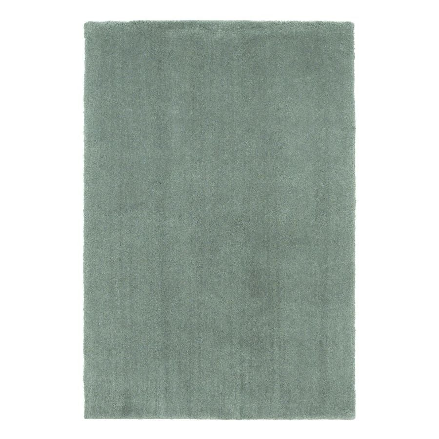 KAS Rugs Sofia Shag Slate Rectangular Indoor Machine-Made Area Rug (Common: 8 x 11; Actual: 8-ft W x 11-ft L)