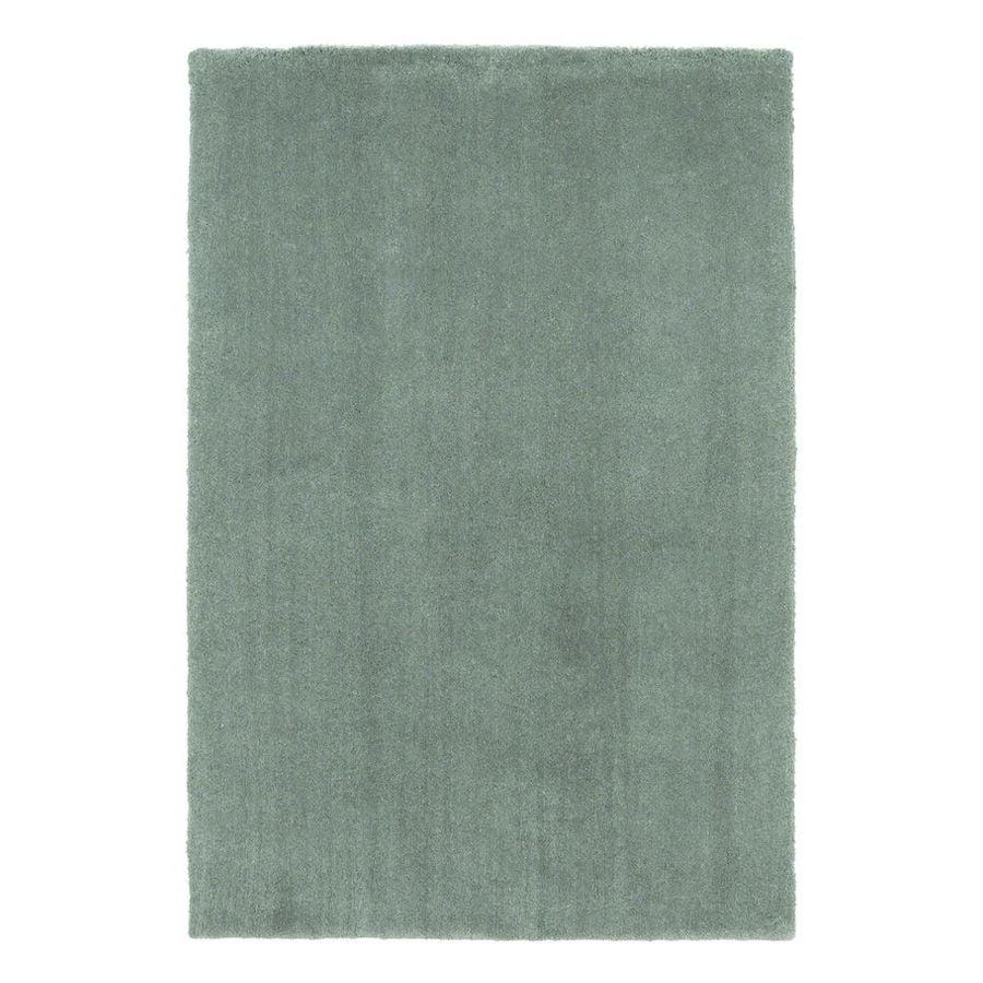 KAS Rugs Sofia Shag Slate Rectangular Indoor Shag Area Rug (Common: 8 x 11; Actual: 96-ft W x 132-ft L)