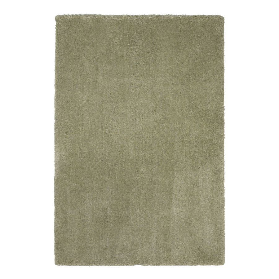 KAS Rugs Sofia Shag Slate Rectangular Indoor Shag Area Rug (Common: 8 x 11; Actual: 96-ft W x 132-ft L)
