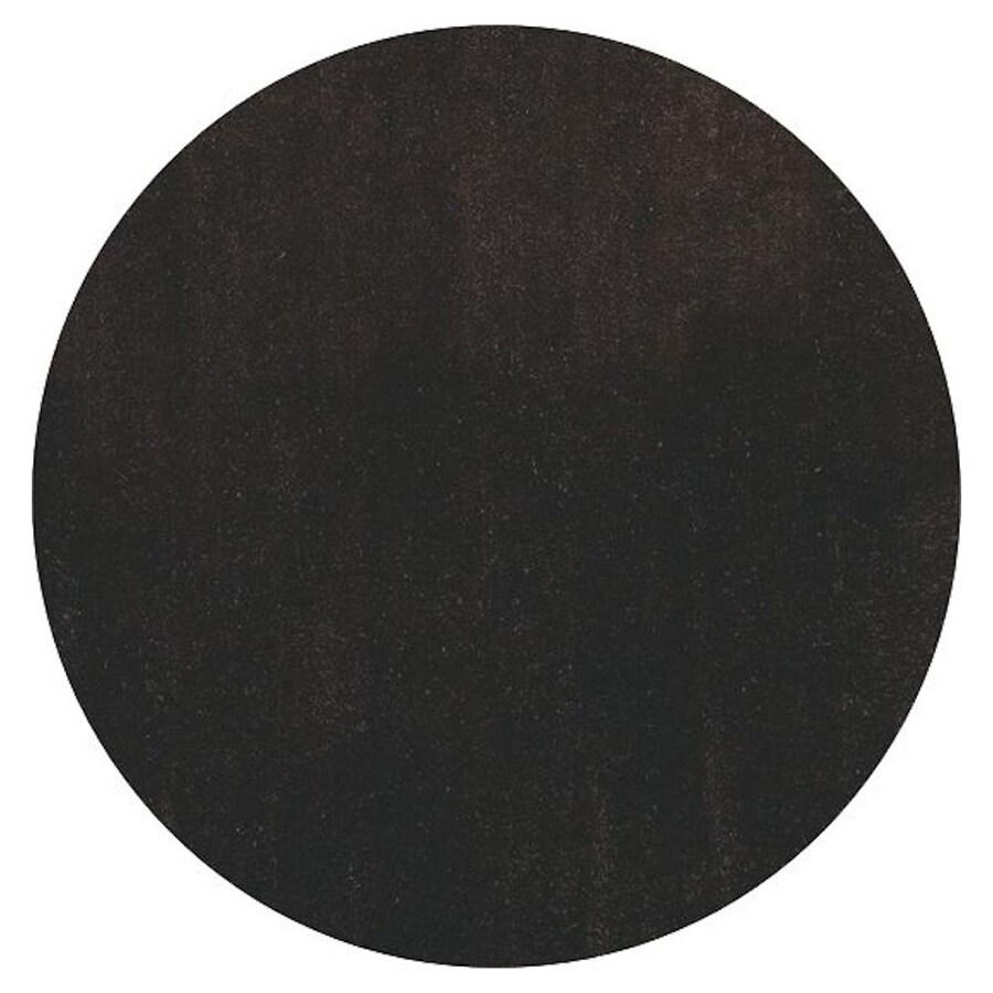 KAS Rugs Sofia Shag Brown Round Indoor Shag Area Rug (Common: 8 x 8; Actual: 96-in W x 96-in L x 8-ft Dia)