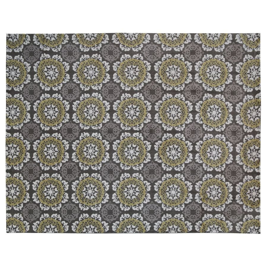 KAS Rugs Millbridge Rectangular Indoor Woven Area Rug (Common: 8 x 10; Actual: 90-in W x 114-in L)