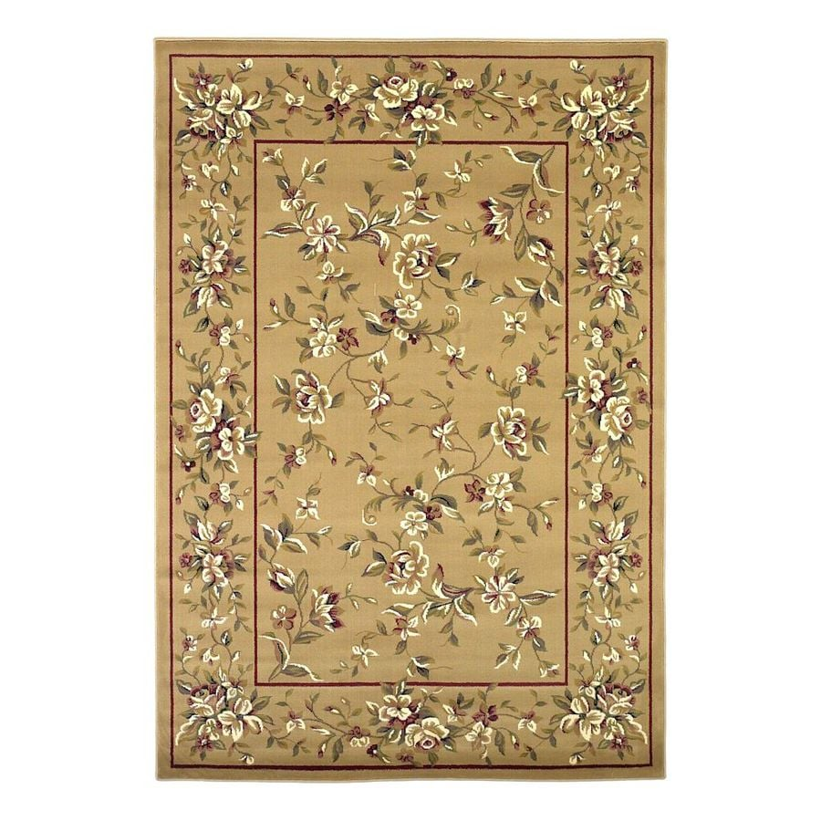 Shop Kas Rugs Ivory Indoor Oriental Area Rug Common 10 X