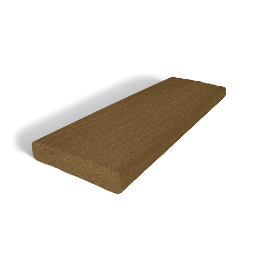 MoistureShield (Actual: 1.5-in x 5.5-in x 20-ft) Vantage Bridle Composite Deck Board